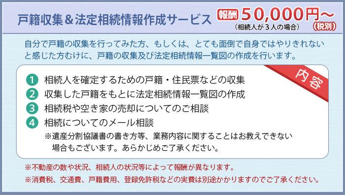 戸籍収集&相続関係図作成